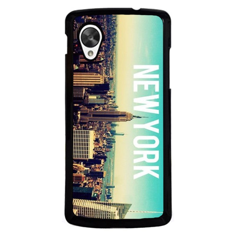 Beautiful New York City Phone Cover for LG Nexus 5 (Multicolor)