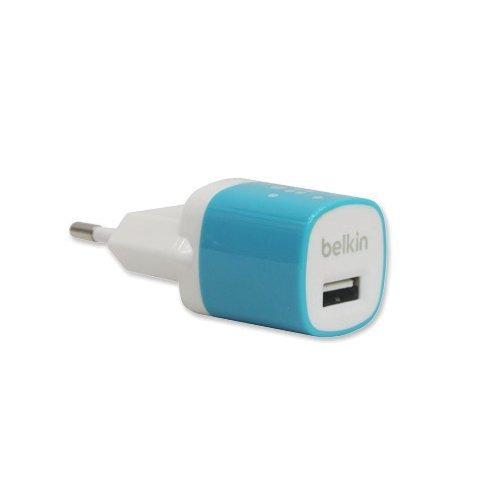 Belkin MIXIT Home Charger Kompatibel dengan Smartphone, Tablet - Biru