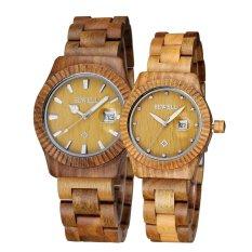 Bewell Lover's Watches Retro Wooden Quartz Watch Wristwatch (Women)