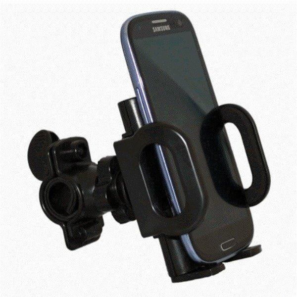 Bicycle Computer Mount Bike Mount Phone Holder - Hitam