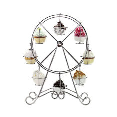 Big Ferris Wheel Large Cupcake Stand Dessert Christmas Muffin Cake Holder Stand (Intl)