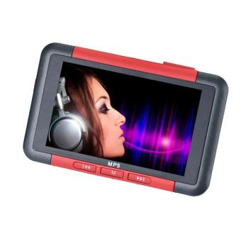 "Bigskyie 8GB Slim MP3 MP4 MP5 Music Player With 4.3"" LCD Screen FM Radio Video Movie Red Free Shipping"