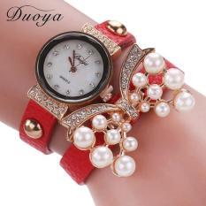 Bigskyie Duoya Hot Selling Luxury Fashion Heart Pendant Women Watches Red Free Shipping