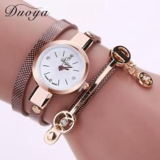 Bigskyie Luxury Rhinestone Bracelet Women Watch Ladies Quartz Watch Women Wristwatch Brown Free Shipping