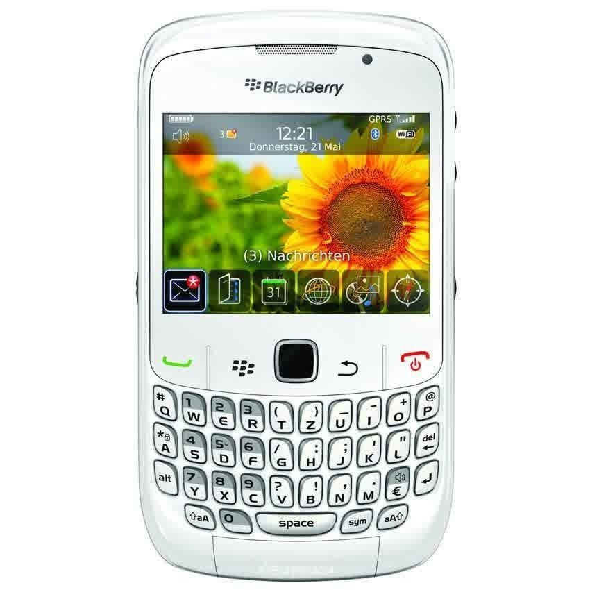 Blackberry 8520 Gemini - 256MB - Putih