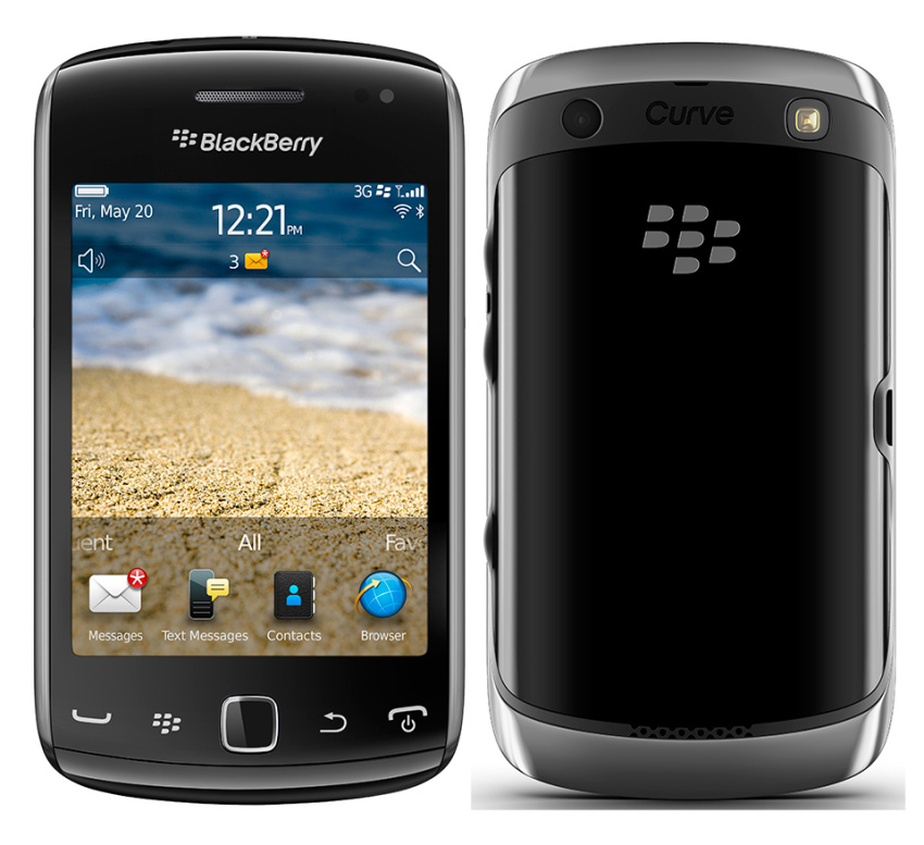 Blackberry 9380 - 512GB - Hitam