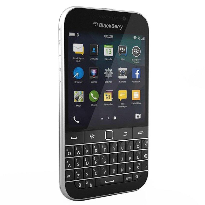 Blackberry Classic Q20 - 16 GB - Hitam