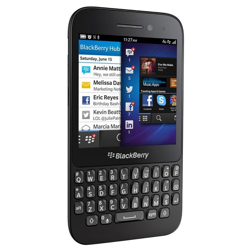 Blackberry Q5 - 8 GB - Hitam