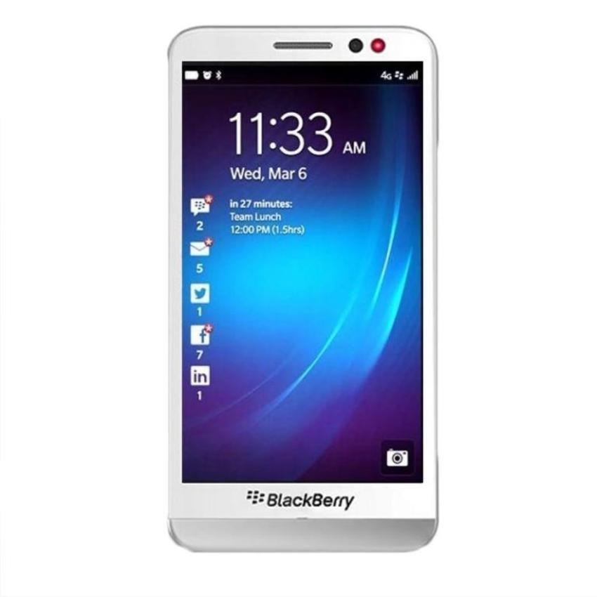 Blackberry Z30 - 16GB - Putih + Gratis Micro SD 8GB