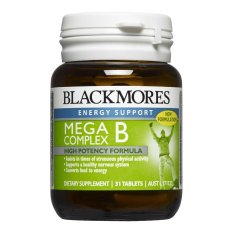 Blackmores - Mega B Complex - 31 Tab