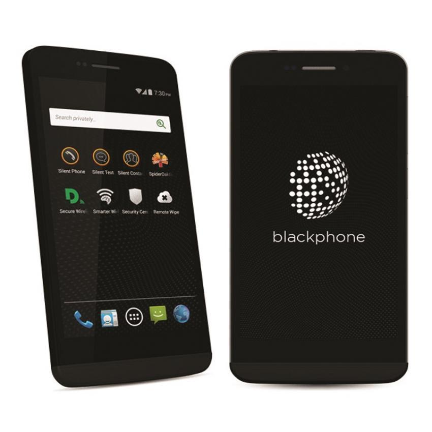 BlackPhone BP1 - 1GB - 16GB - Hitam