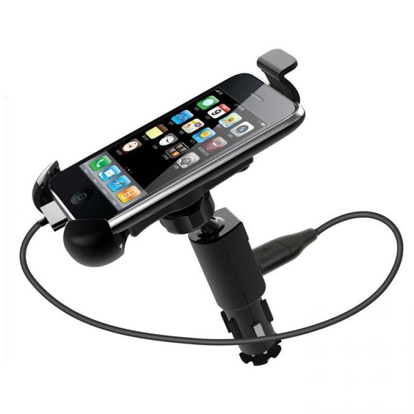 Blz Car Cigarette Mount Holder for Smartphone - CH411 - Hitam