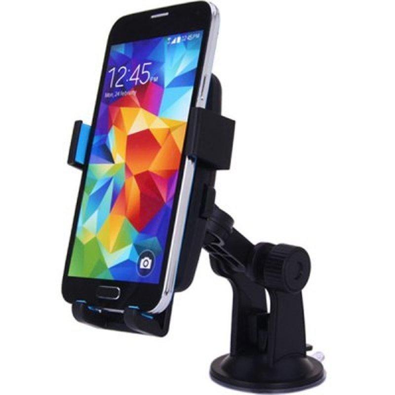 Blz Lazy Tripod Car Mount Holder for Smartphone - WF-361 - Black