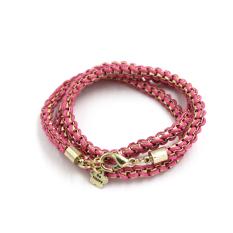 BolehDeals Womens Bohemian Vintage Braided Cord Knitted Woven Cuff Bracelet Necklace