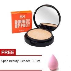 Bounce Ver 88 Up Pact SPF50 + Gratis Spon Blender - 1 pcs