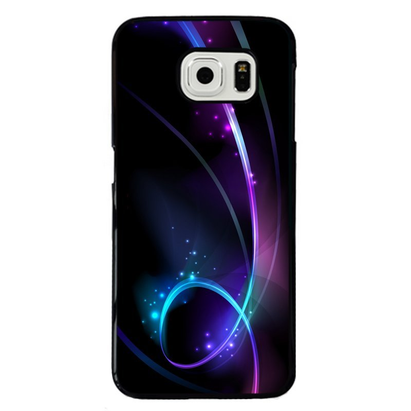 Bright Line Painting Phone Case for Samsung Galaxy E7 (Multicolor)