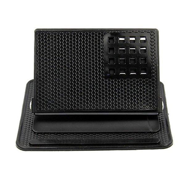 Broadfashion Rotating Car Dashboard Mount Holder Sticky Non-Slip Pad for Phone GPS (Black) (Intl)
