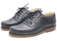 BSM Soga BFH 240 Sepatu Klasik Pantofel / Formal / Kerja Pria - Kulit Asli - Elegan - Hitam