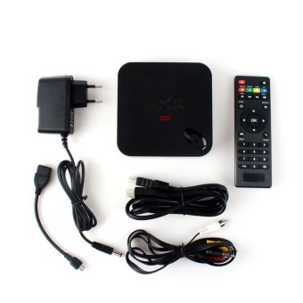BUYINCOINS MX III Android 4.4 Quad Core Media Player TV BOX DDR3 2GB ROM 8GB HDMI US Plug