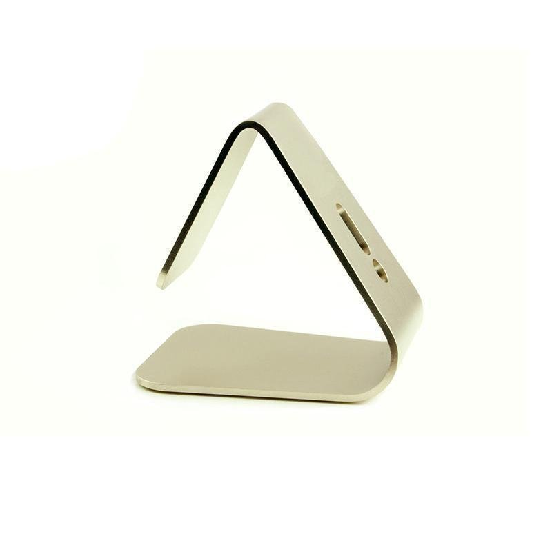 BUYINCOINS Nano Micro Suction Stand Aluminum Alloy Bracket for Apple Smartphone (Gold) (Intl)