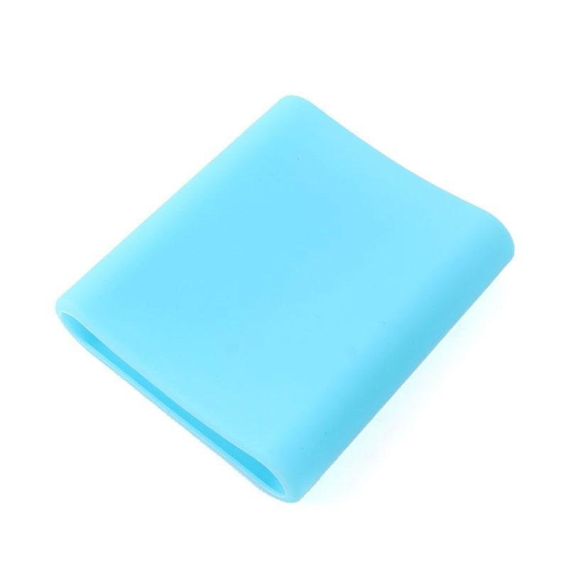 BUYINCOINS Silicone Protective Cover for Xiaomi 10400mAh Power Bank (Light Blue)