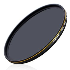 CACAGOO 55mm ND1000 Filter Neutral Density Ultra Slim Multi-Coated Lens Filter 10 Stop Optical Glass