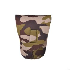 Caden Thicken Shockproof DSLR Camera Lens Bag For Canon Nikon Camo L (Intl)