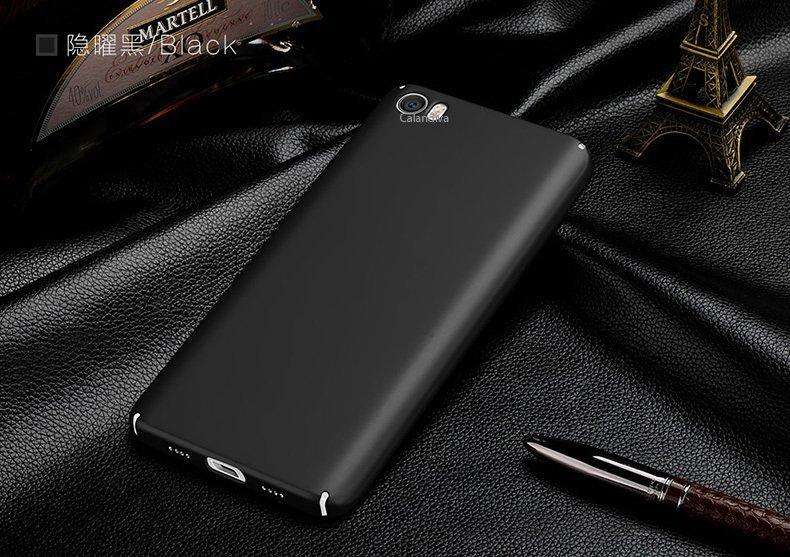 Calandiva 360 Degree Protection Case for Xiaomi MI5 - Hitam + Free Rounded Tempe