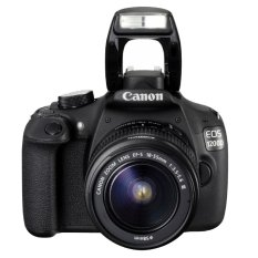 Canon EOS 1200D - 18 MP - Kit Lensa EF-S 18-55mm DC III - Hitam