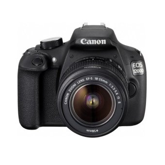 Canon EOS 1200D Lensa Kit 18-55 mm - 18 MP - Hitam