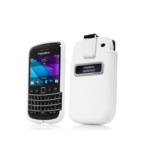 Capdase Blackberry 9790 Bellagio Case  Smart Pocket Value Set Xpose  Posh - Putih