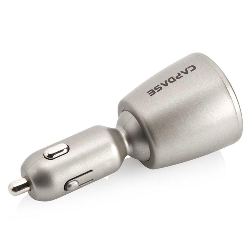 Capdase Original Dual USB Car Charger Revo K2 2.4 Ampere - Abu-Abu
