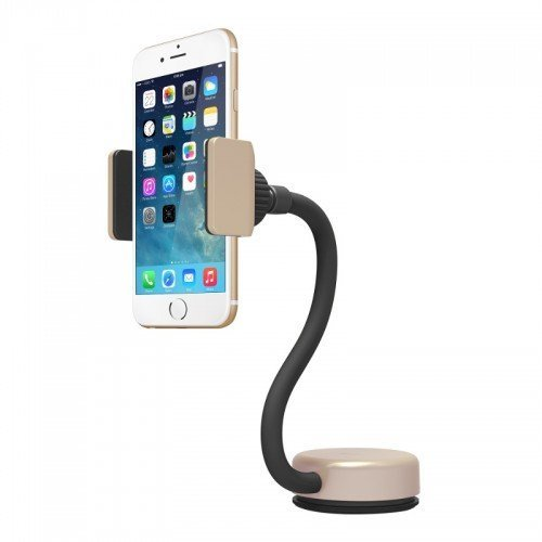 Capdase Posh Smart Car Mount With Alert Key Dashboard - Gold