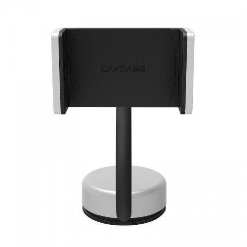 Capdase Posh Smart Car Mount with Alert Key (Dashboard / Windscreen) - Silver