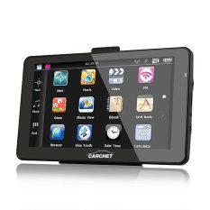 Car 7 Inch GPS Navigation Bluetooth AV-IN 128MB RAM 4GB With Western Europe Map - Intl