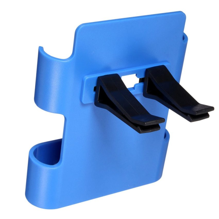 Car Air Vent Clip Mount Holder Cradle Stand for iPhone 6 Galaxy S3 S4 S5 HTC M9 (Blue) (Intl)