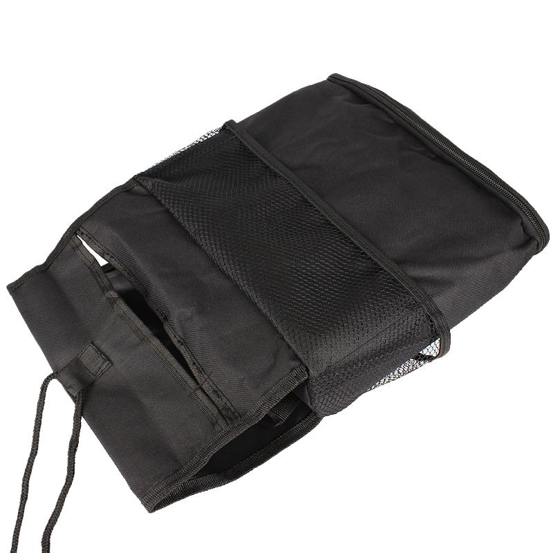 Car Auto Back Seat Organizer Bags (Black) (Intl)