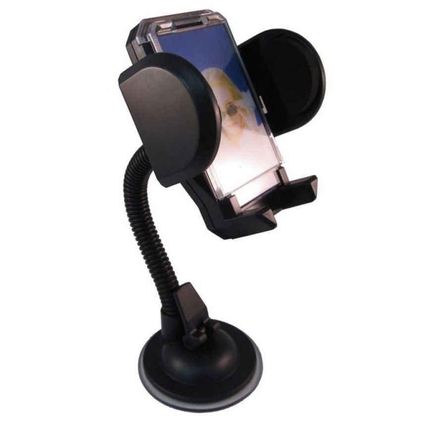 Car Holder for Mobile Phone - Tripod-4 - Hitam
