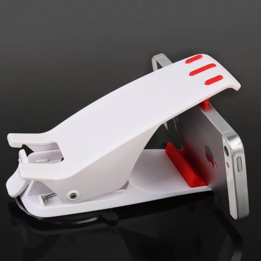 Car Phone Holder Hippo Mouth Bracket (White) (Intl)