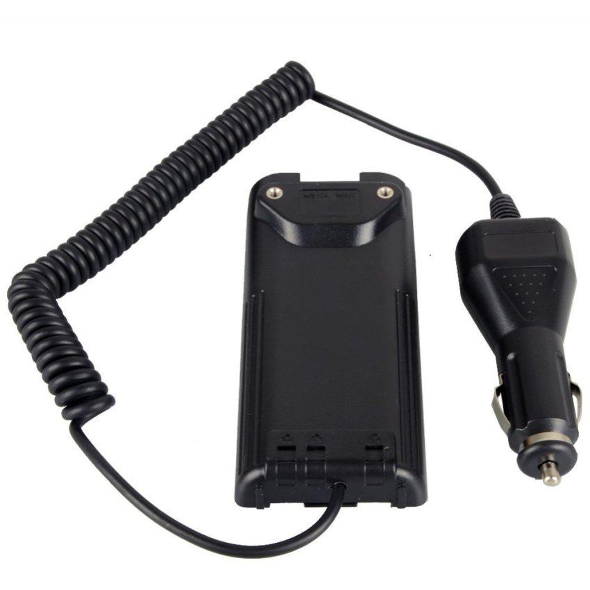 Car Radio Battery Eliminator+ Charger Adaptor for ICOM IC-V8/V82 A6 T3H F3GS F11 (Intl)