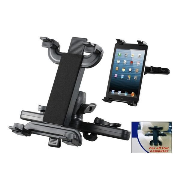 Car Seat Back Supporting Bracket for iPad (Black)