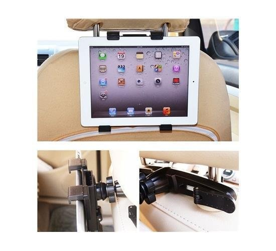 Car Windshield Mount Holder for iPad, GPS, DVD and TV (Black) (Intl)