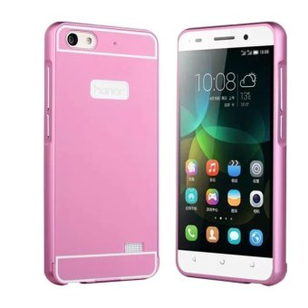 Case for Huawei Honor 4C Metal Bumper Frame Case + Hard PC Back Cover Protector