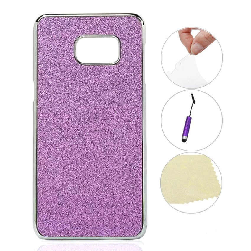 Case for Samsung Galaxy S6 Edge Plus Lightweight Back Case Cover Protective - Light Purple (Intl)
