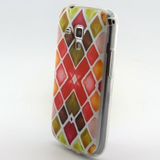 Case for Samsung Galaxy Trend Duos S7562 Ultra-thin Soft TPU Phone Cover Rhombus Pattern (Intl)