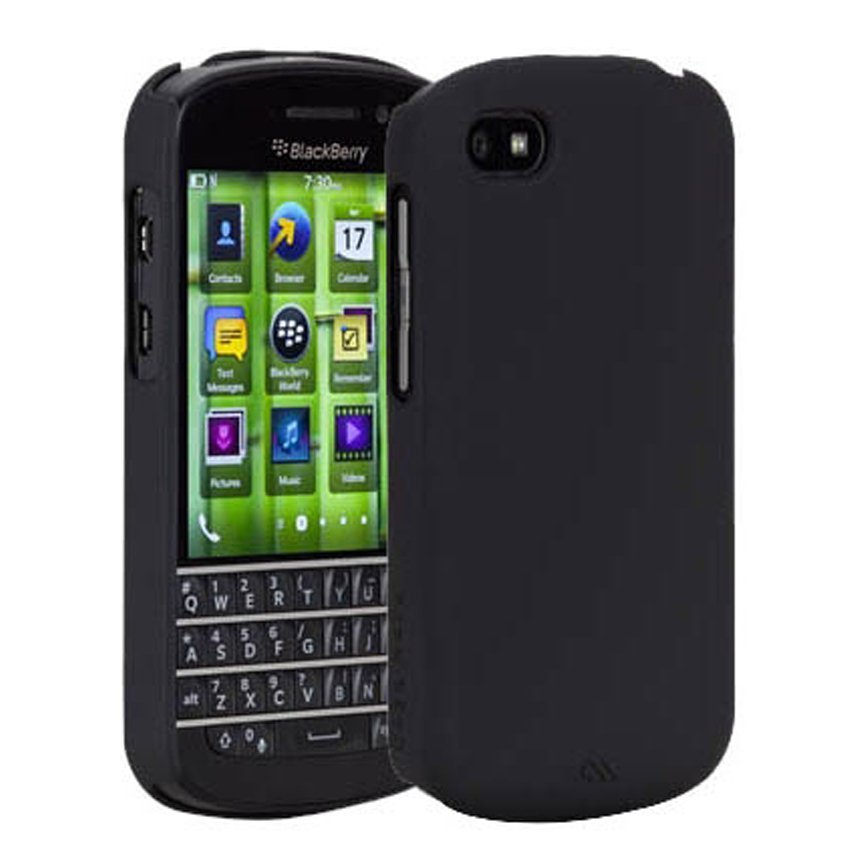 Case-Mate for BlackBerry Q10 Barely There - Hitam