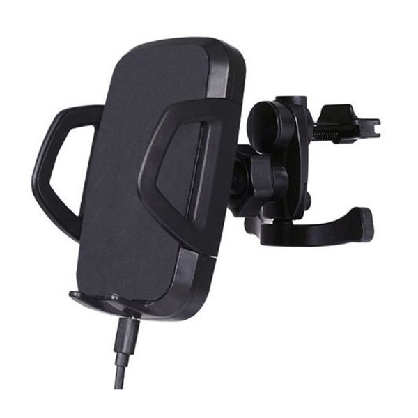 Case Powerqi C3A Wireless Car Charger with Air Vent Holder - Hitam