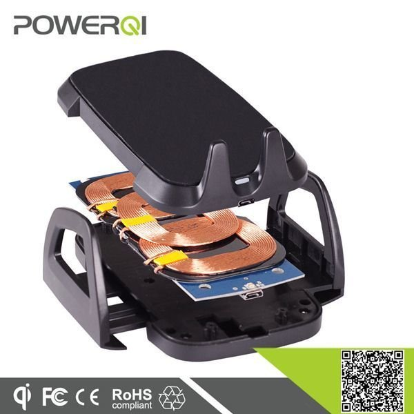 Case Powerqi C3C Wireless Car Charger with Suction Holder - Hitam