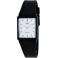 Casio - Analog Watch Jam Tangan Unisex - Hitam - Strap Karet - MQ127-7EDF