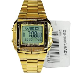 Casio DB-360G Databank 10TH Stainless (Gold)